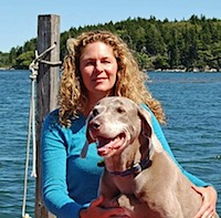 Grey Dog Studio Artist Laurel Johns in Maine